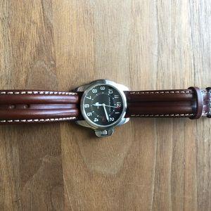 Khaki navy Hamilton watch